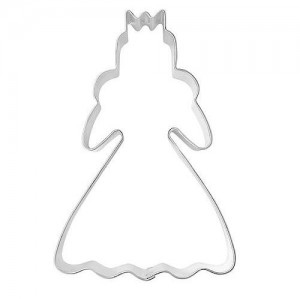 Pepparkaksform, prinsessa
