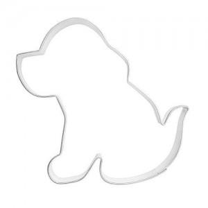 Pepparkaksform, sittande hund