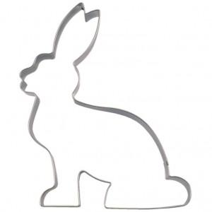 Pepparkaksform, sittande kanin