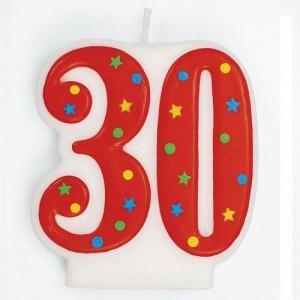 Tårtljus, nr 30