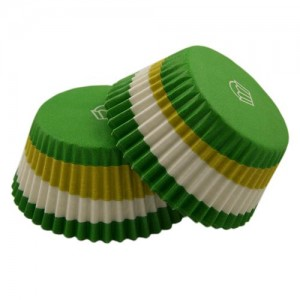 Muffinsformar, Circle Grön (ord. pris 25 kr)