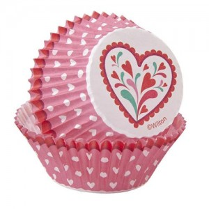 Muffinsformar, hjärtan