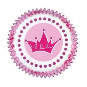 Muffinsformar, prinsesskronor