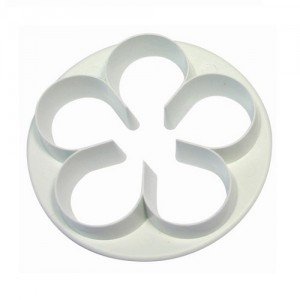 Blomutstickare - fembladig blomma, 65 mm (PME)