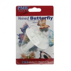 Fjärilsutstickare - mellanstor fjäril med ejektor (PME)