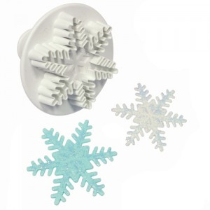 Snöflingeutstickare med ejektor, L