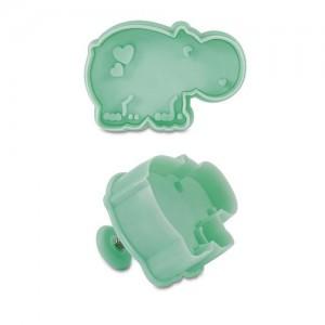 Utstickare - flodhäst med ejektor