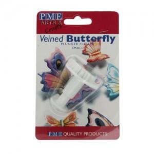 Fjärilsutstickare - liten fjäril med ejektor (PME)
